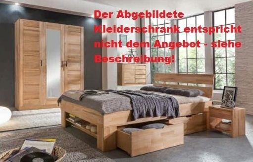Schlafzimmer Sofie 2-140 mit Bett 140 cm Kleiderschrank 2 trg ...