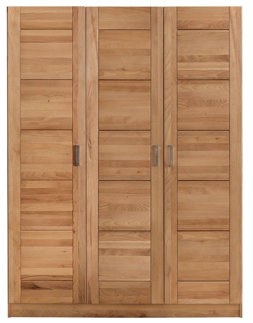 schlafzimmer sofie 3 180 mit bett 180 cm kleiderschrank 3 trg kernbuche massiv ge lt. Black Bedroom Furniture Sets. Home Design Ideas