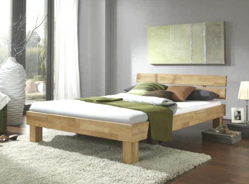 schlafzimmer sofie 3 ju140 mit bett 140 cm kleiderschrank 3 trg kernbuche massiv ge lt. Black Bedroom Furniture Sets. Home Design Ideas